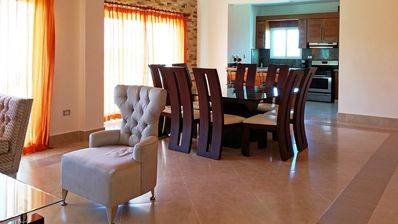 Photo for Top-floor 3BD quiet Sosua condo wih large pool, WIFI, BBQ, A/C, Cable TV