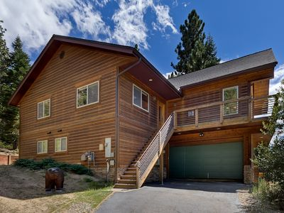 Photo for Muskwaki Bears Den -  Stunning Home with Mt. Tallac Views, Game Room and Hot Tub!
