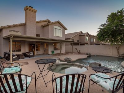 Photo for Ahwatukee vacation home, sleeps 6, heated Pool & Spa- nearby shopping & dining