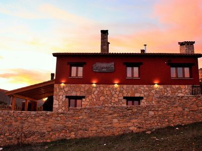 Photo for El Escalerón I House | Pena Rubia Accommodation. Patio, fireplace and barbecue