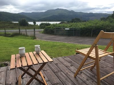 Photo for Spacious family friendly 3 bedroom house with sea loch and mountain views