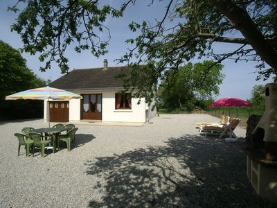 Photo for Ground-floor accommodation with enclosed garden (ideal for dogs) near sandy beach