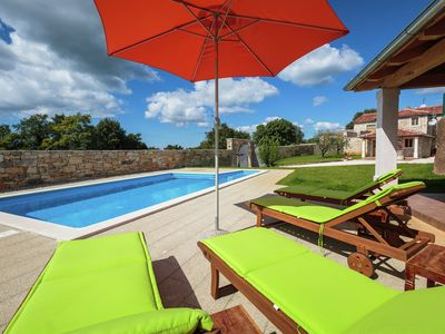 Photo for Beautiful villa with private pool in a quiet place in the heart of Istria