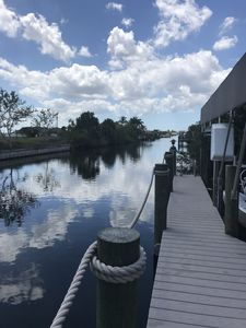 Photo for Luxurious 3/2/2 w/den on water in exclusive Cape area with peace & relaxation