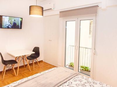 Photo for Fully renovated, adorable apartment in Kolonaki