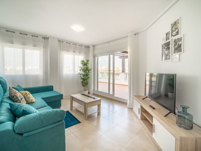 Photo for Bright Apartment with Large Terrace - La Torre Golf Resort- MO4223- MURCIA VACATIONS