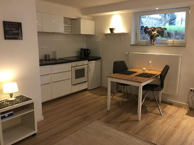 Photo for Super nice apartment for 2 people in Düsseldorf Eller in a good location