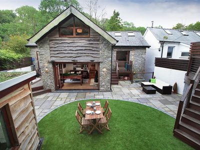 Photo for This fabulous former water mill is outstanding… a fusion of 21st century living and traditional fe