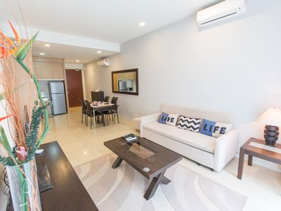 Photo for KLCC 2 min with infinity pool cozy suites#4