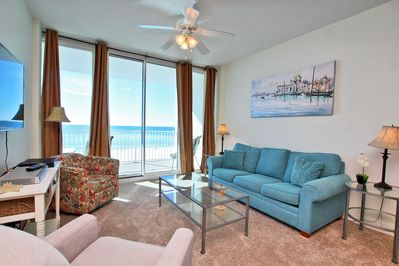4th Floor Gulf Front Living Space
