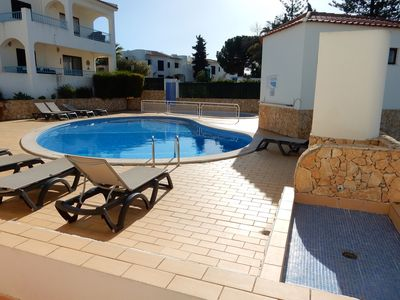 Photo for 001 Monte Dourado - Spacious 2 Bedroom Ground Floor Apartment with Pool Views