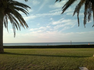 Photo for Townhouse on the beach front, garden and common pool, Wifi, chill-out and a/c