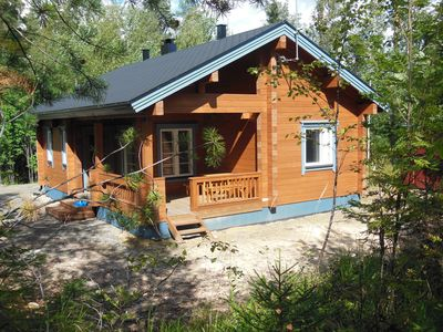 Photo for Finland, Koli National Park, at the lake house with sauna