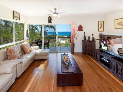 """Photo for Coolum """"Ocean Views"""" Dog Friendly 2 min walk to be"""