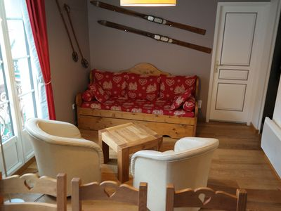 Photo for Apartment ☆☆☆ T4, eco, 8 people in the heart of Cauterets 200m cable cars