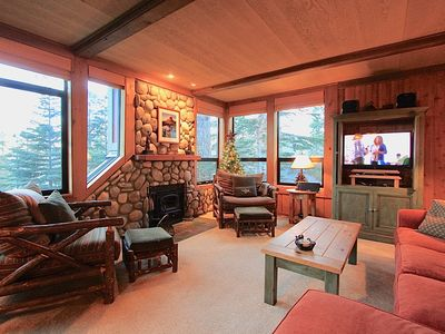 Photo for 1849 #541 The Cabin in the Woods! Beautiful views and updated throughout!