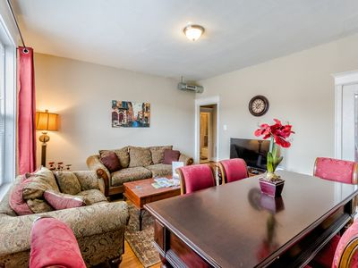 Photo for Classy 2Bed 1bath Condo by Forest Park, WashU & The Delmar Loop in St Louis!
