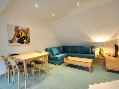 Photo for 27B Durley Chine -  an apartment that sleeps 4 guests  in 2 bedrooms