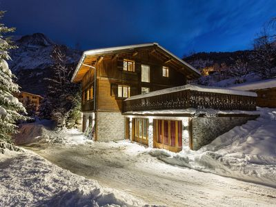 Photo for South Facing Luxury Ski In Ski Out Chalet - Chamonix Valley