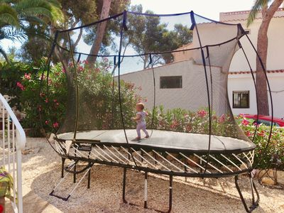 Photo for Beautiful villa with private pool, children playground and trampoline