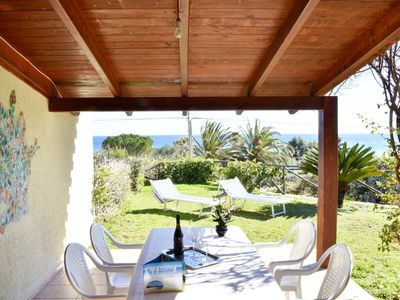 Photo for Cottage with views just 80 meters from the sea of Costa Rei