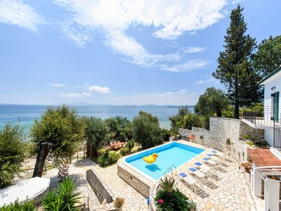 Photo for Villa Alexia at Nissaki, Corfu