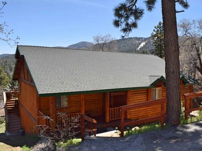 Photo for Black Diamond Lodge: Near Bear Mountain! Spa! Wifi! Views! BBQ! DirecTV! Master Suite!