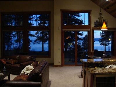 Photo for Lake VIEW STEPS 2 Lakefront & Beachfront Skiing Ski Beach WiFi Luxury