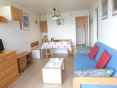 Photo for Le Corbier Apartment, Sleeps 4 with Pool and WiFi