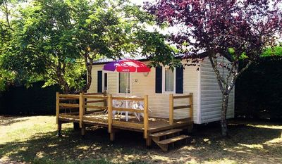 Photo for Camping New Croze **** - Mobile home 3 Rooms 2/4 People