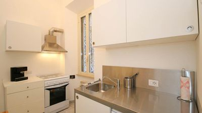 Photo for Apartment very large and bright close to the Trevi Fountain and the Spanish Steps!