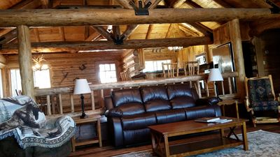 """Photo for """" Authentic Hand-Crafted Cabin """"  w/ Awesome Lake View  !"""