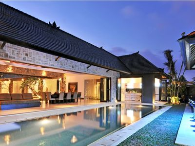 Photo for Samudra Raya, Luxury 5 Bedroom Villa Seminyak
