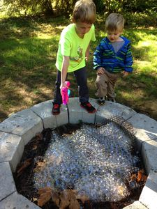 The fire pit used in creative ways!