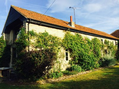 Photo for Charming stone barn conversion in Somerset