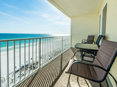 Photo for ⭐Sea Dunes 603-3BR⭐OPEN Apr 19 to 21 $725! Top Floor GulfFront - Beach Service❤