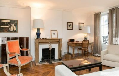 Photo for large, elegant,  old-world charm 2BR Apartment fully equipped