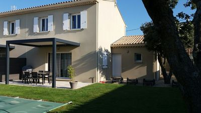Photo for Gite ** 6 pers in the Enclave of the Popes with private pool and heated