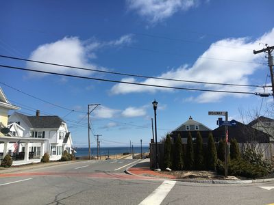 The beach is right down the street. So come home for lunch or any time you want.