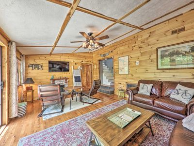 Photo for Secluded Home w/ Lake Views, < .5Mi to Boat Dock!