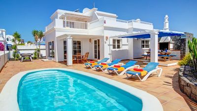 Photo for Spacious villa just beside the sea front