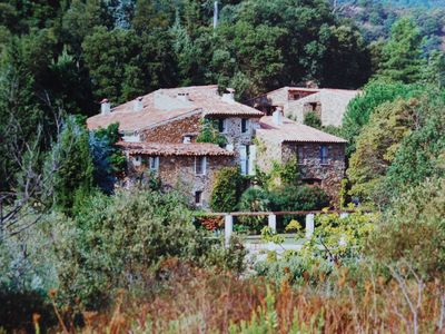 Photo for Charming old Farmhouse, in tranquil countryside, pool near beaches of St. Tropez