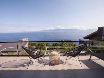 Photo for Casa da Eira - An ideal home for a family of four, with spectacular views of the sea.