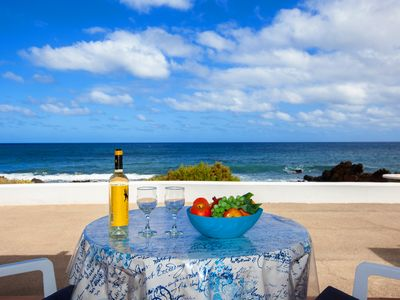 Photo for Oceanfront  Bungalow in peaceful surroundings