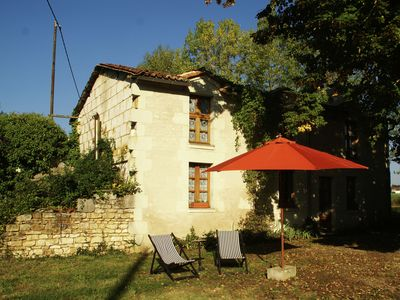 Photo for Atmospheric holiday home with large garden in the historical region of Thuré