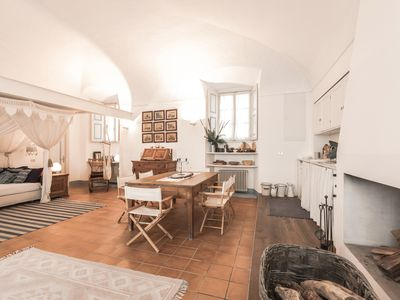 Photo for Large studio 10 minutes from the center, in a villa with swimming pool, private parking