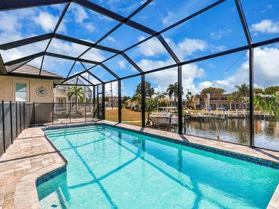 Photo for NEW LISTING! Modern escape w/ canal view & private pool - near the Sound!