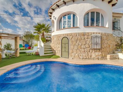 Photo for Villa Canari, Villa with Pool and Ocean View