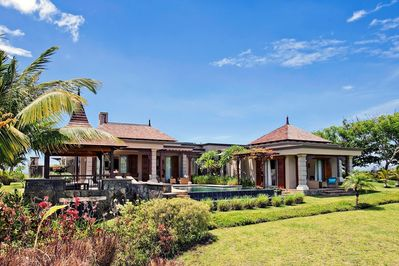 Welcome to your luxurious villa with a private pool and an ocean view!