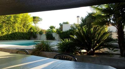 Photo for Charming villa with private pool 7km from the beaches